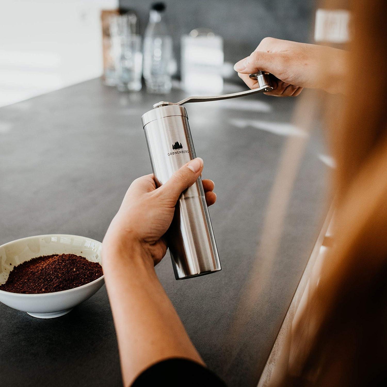 Kaffeemaschine mit Mahlwerk - Manuelle Kaffeemühle