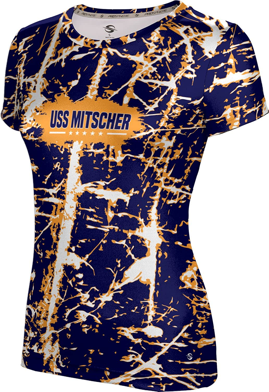 ProSphere Women's USS Mitscher Military Distressed Tech Tee