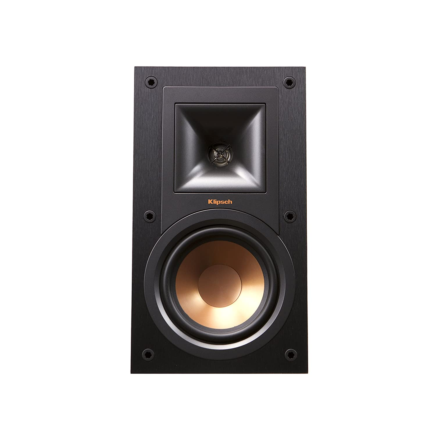 cherry klipsch bookshelf angle speakers r