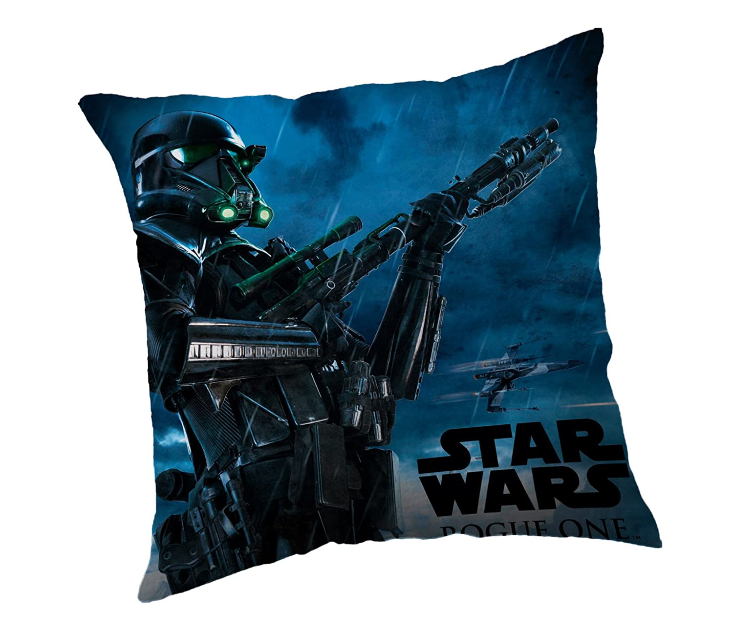 Jerry Fabrics 121 Decorative Throw Pillows for Kids 40 x 40cm Star Wars Character Cushion, Polyester, SW 3, 40 x 40 x 5 cm JERRY FABRICS s.r.o.