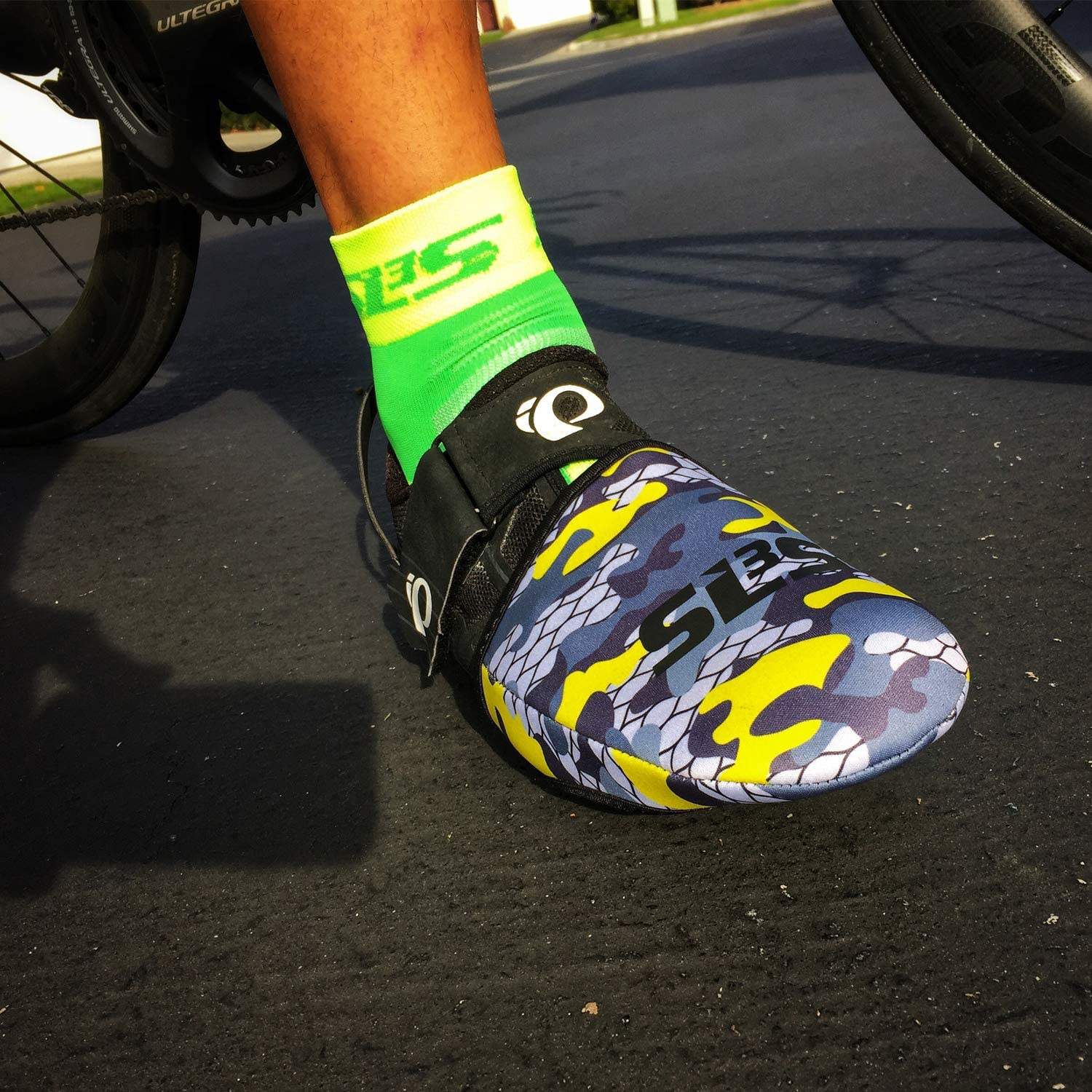 Windproof Waterproof SLS3 Cycling Toe Covers Toe Warmers Cycling Thermal  Cycle Toe Cover No More Cold