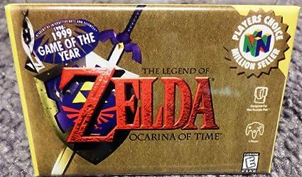 Amazon Com Legend Of Zelda Ocarina Of Time Magnet N64
