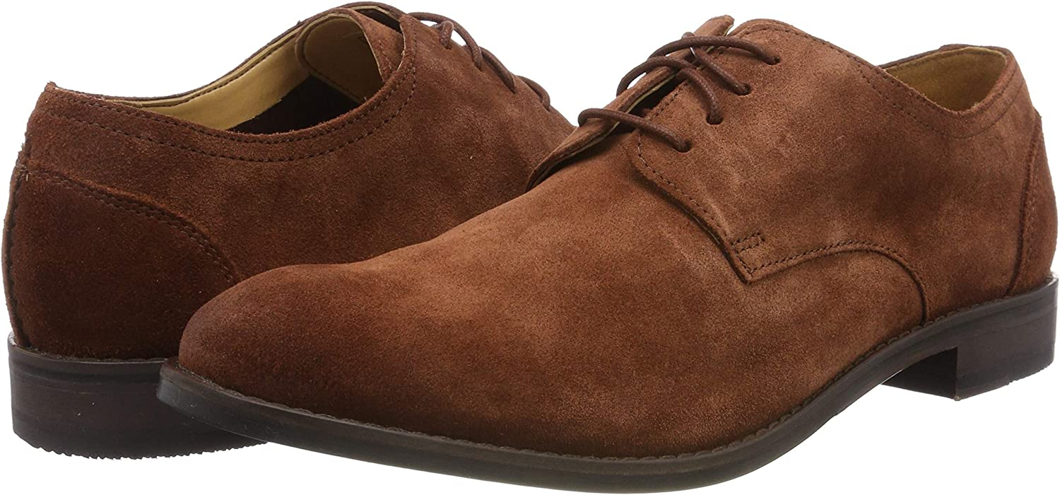 Clarks Mens Derby Lace-Up