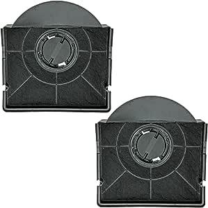 Spares2go CHF303 tipo carbón olor carbono filtro para campana de cocina Thermex Ventilador rejilla de ventilación (Pack de 2): Amazon.es: Hogar