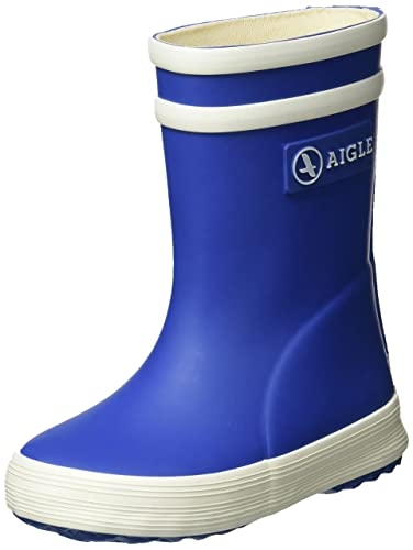 Aigle Unisex-Kinder Lolly Pop Gummistiefel Blau (Lagune) 27 EU(9 UK) t0RHP