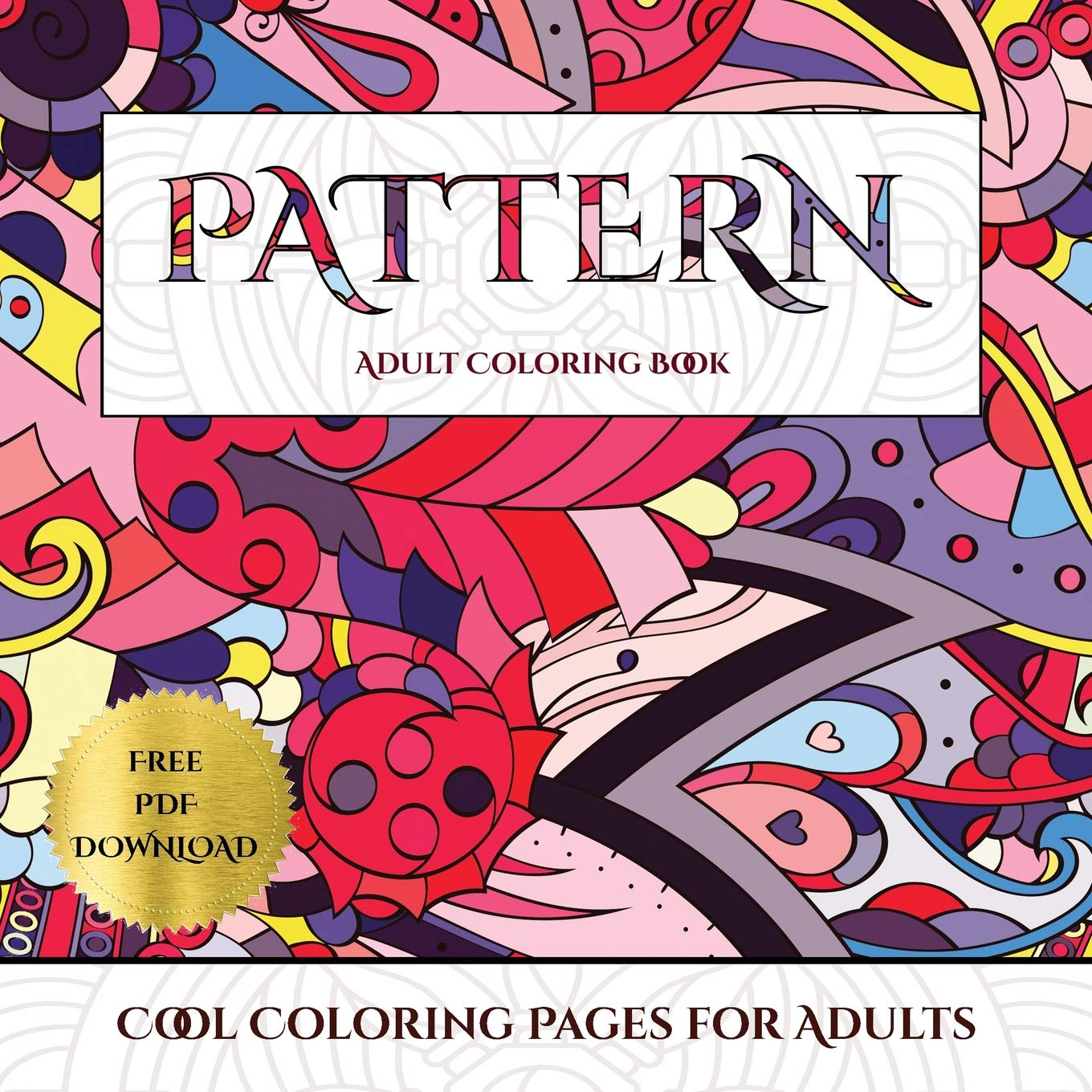 - Amazon.com: Cool Coloring Pages For Adults (Pattern): Advanced