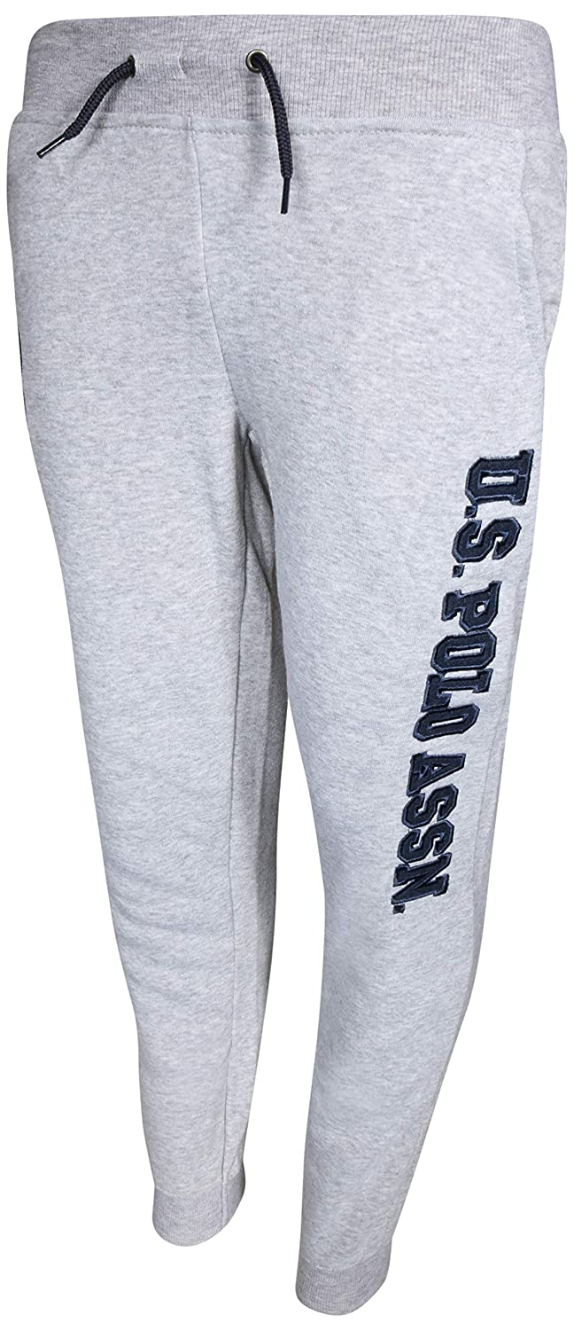 Boys Fleece Jogger Sweatpants with Logo Polo Assn U.S