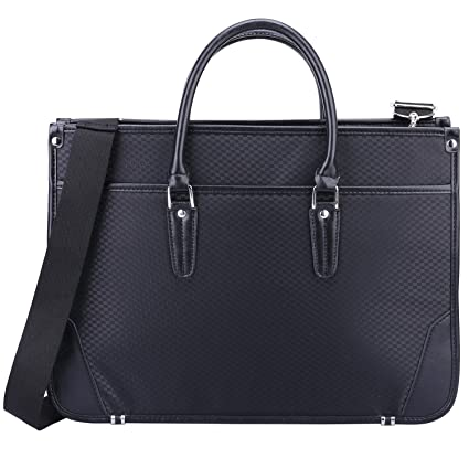 4251f2879ca7 Amazon.com: Ronts Laptop Briefcase for Women Mens PU Leather Tote 14 ...