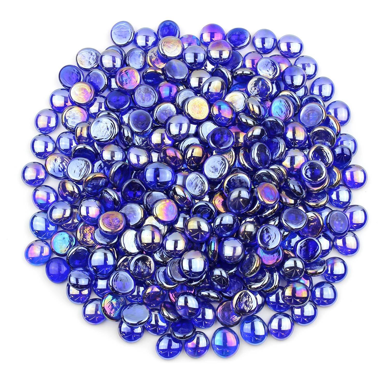 Gemnique Standard Glass Gems - Sapphire Blue Luster (48 oz.) by Gemnique