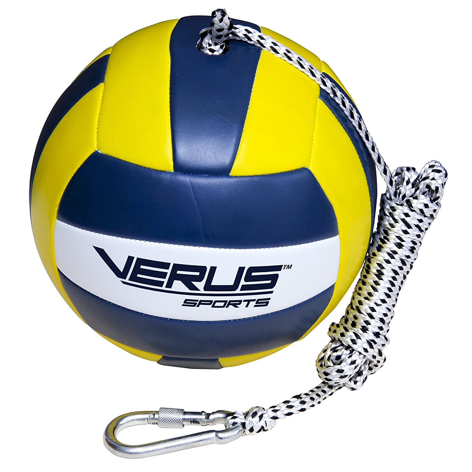 Verus Sports Replacement Tetherball Ball with Heavy Duty Rope & Clip Inc. TO600-BALL