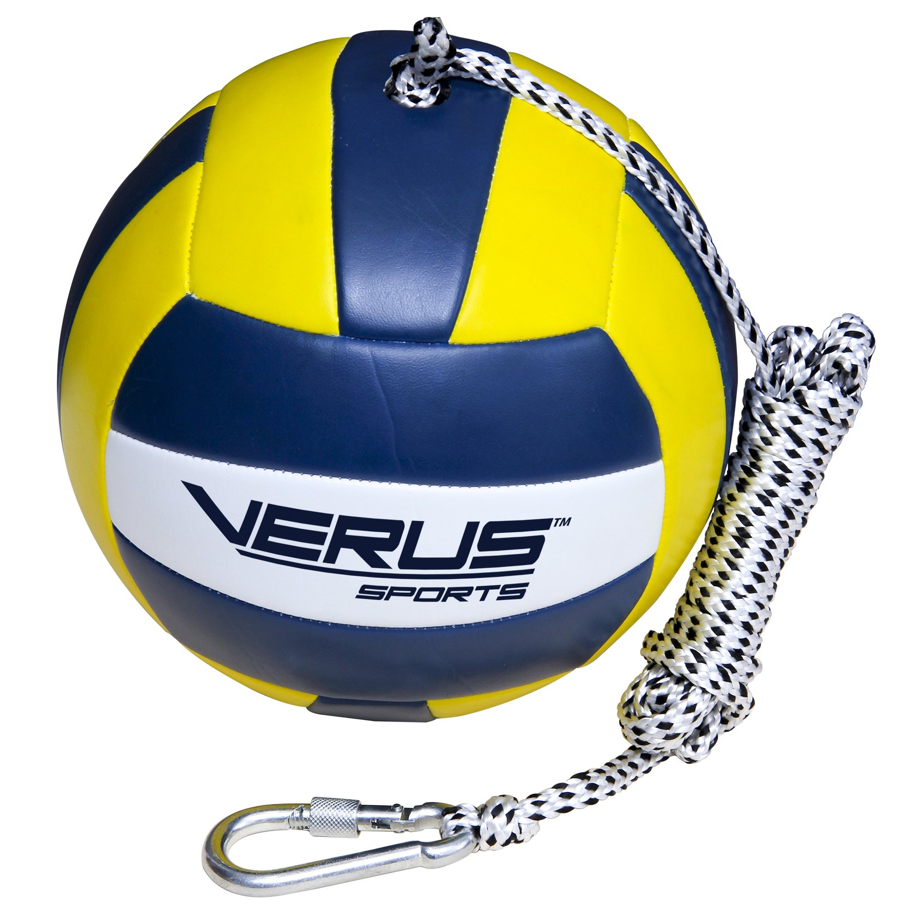 Verus Sports Replacement Tetherball Ball with Heavy Duty Rope & Clip by Verus Sports