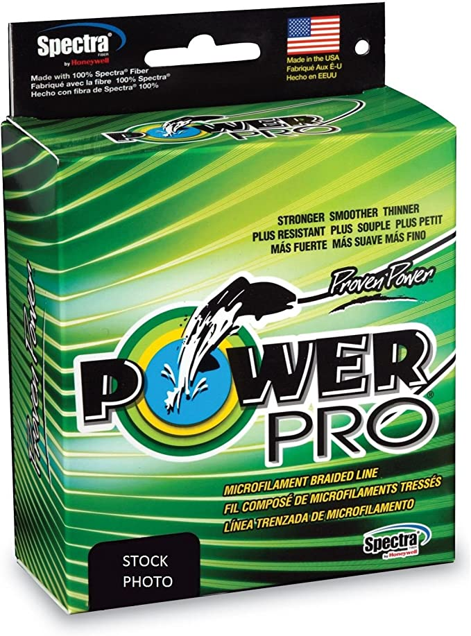 Best Braided Fishing Lines : Power Pro Spectra Fiber Braided Fishing Line