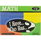 Teacher Created Resources Math Card Game, I Have Who Has, Grades 1 to 2
