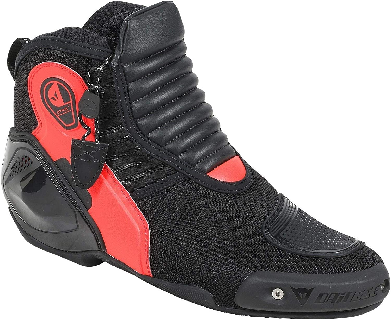 Dainese Dyno D1 Shoes (42) (BlackFluorescent RED)