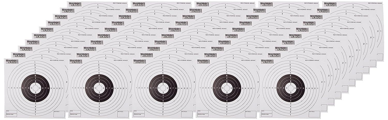 Swiss Arms Cible papier de remplacement Objetivo para airsoft, color blanco
