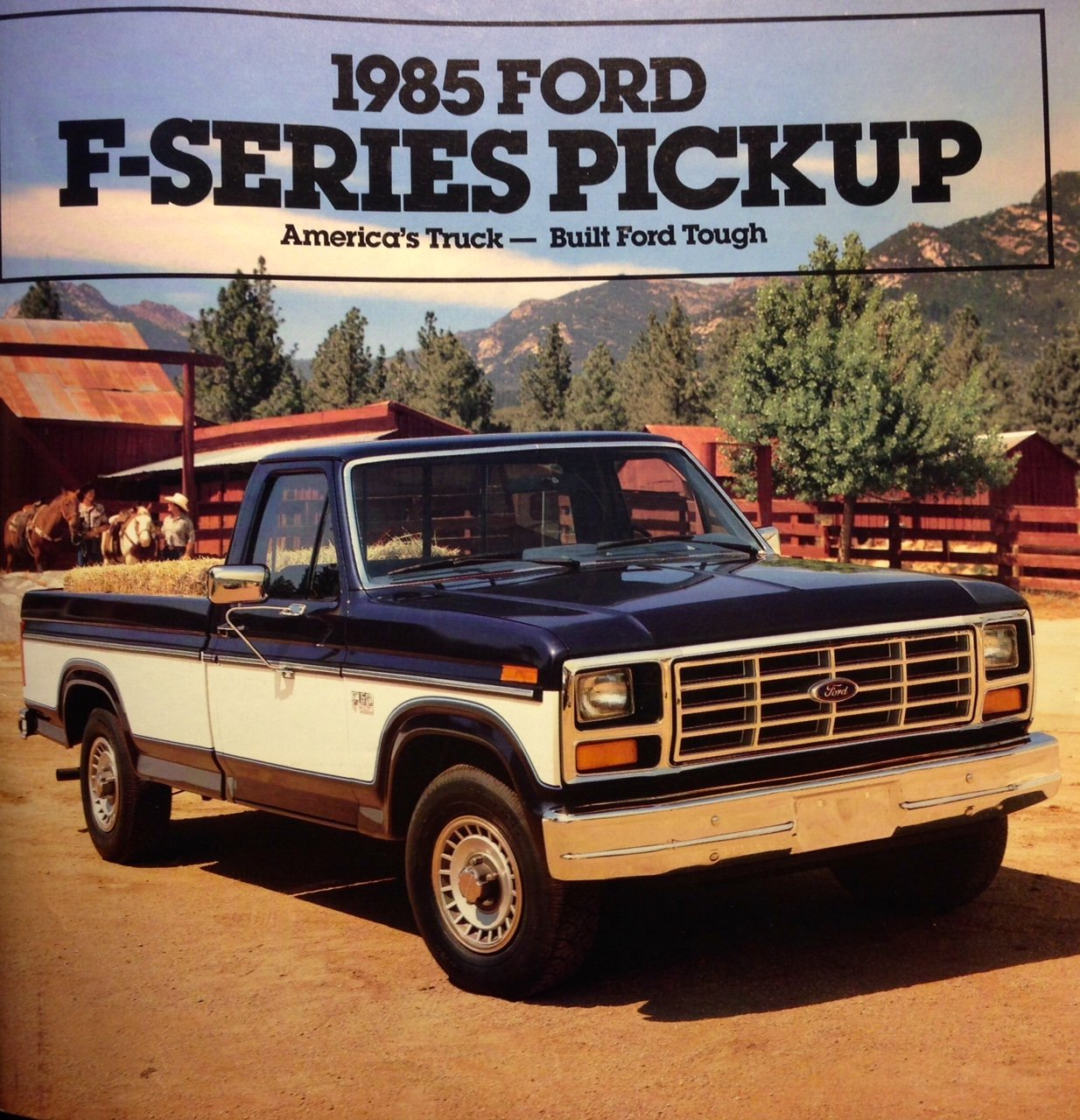 Amazon com original 1985 ford f series pickup truck advertising brochure entertainment collectibles