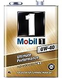 Mobil エンジンオイル モービル1 0W-40 SN 4L [HTRC3]