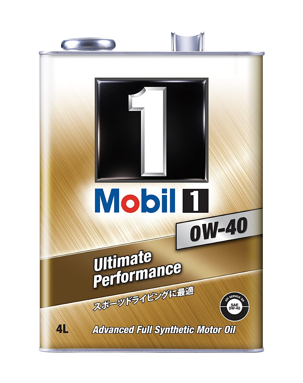Mobil エンジンオイル モービル1 0W-40 SN 4L HTRC3