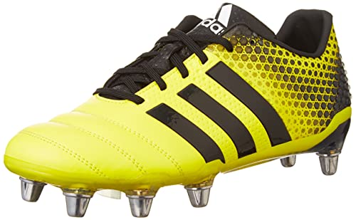 new style 039aa 8df13 ADIPOWER Kakari 3.0 Rugby Boots - Yellow Amazon.es Zapatos y complementos