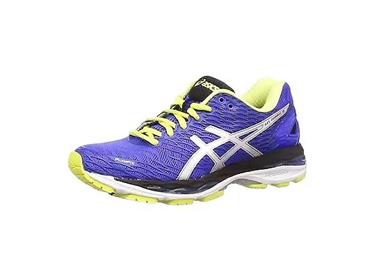 ASICS Gel-Nimbus 18 (Rio), Zapatillas de Running para Mujer, Azul ...