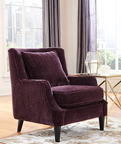 Beautiful Accent Chair Purple Interior