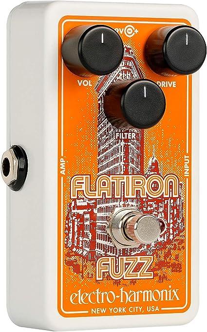 Electro-Harmonix Flatiron Fuzz Pedal
