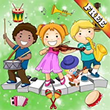 Music Games for Toddlers and Kids : discover musical instruments and their sounds ! FREE app