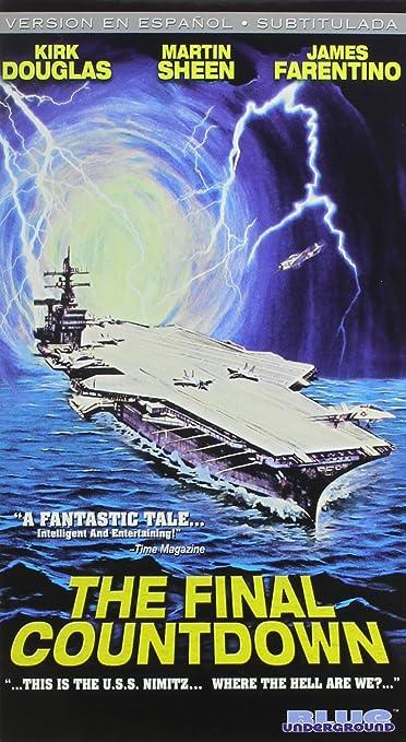 The Final Countdown [USA] [VHS]: Amazon.es: Kirk Douglas ...