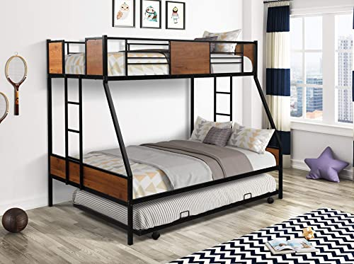 Danxee Twin-Over-Full bunk Modern Style Bed