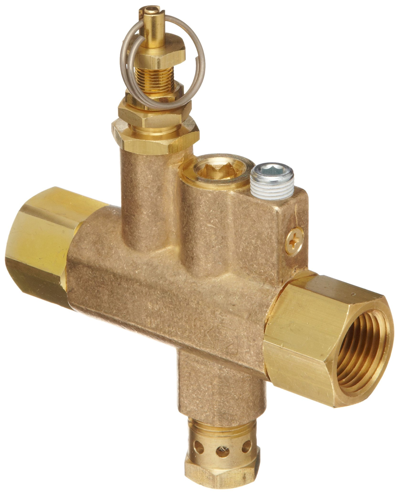 Control Devices Brass Continuous Run Unloader Valve by Control Devices