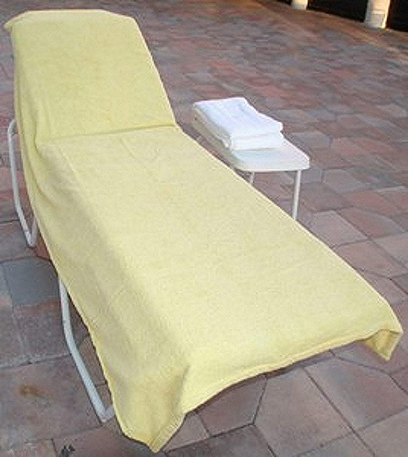 Chair Lounge Cover Luxury Covers Wonder for Pool -Spa Hotel-yellow