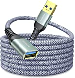 10FT USB 3.0 Extension Cable Type A Male to Female Extension Cord AINOPE High Data Transfer Compatible with USB Keyboard…