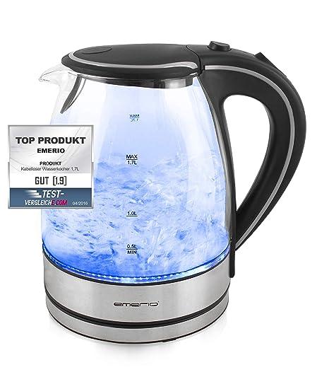 Emerio Glass Water Kettle 1 7 L