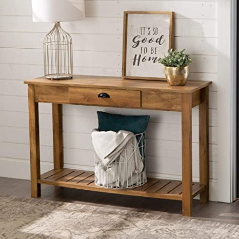Awe Inspiring Amazon Com We Furniture 48 Inch Country Style Entry Console Gmtry Best Dining Table And Chair Ideas Images Gmtryco