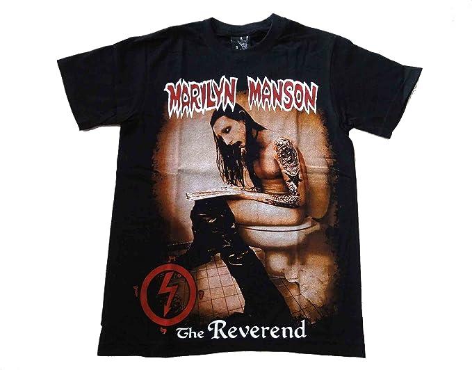 Amazon マリリン マンソン Marilyn Manson バンドtシャツ 146 Tシャツ カットソー 通販