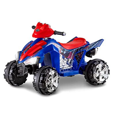 Kid Trax Electric Kids Ride-on Toy, Rechargable Battery, Spider Man, 6V: Toys & Games