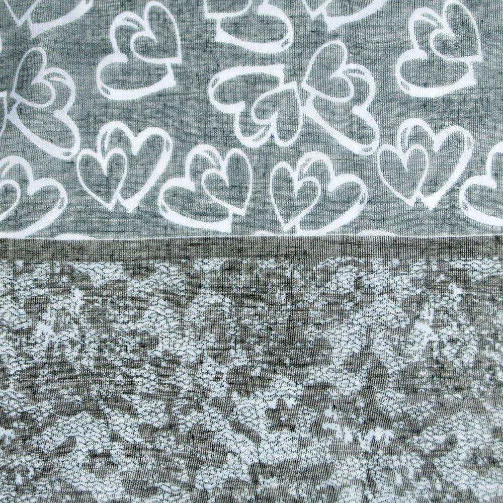 Regalo di natale Amica Donna Sciarpa morbida come accessorio elegante MANUMAR sciarpa Cuori Hearts signora sciarpa scarf