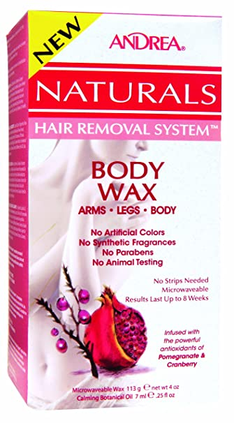 removal No strips hair system wax