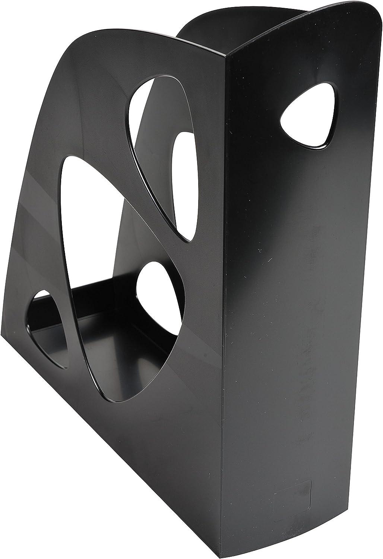 25,70 x 24,80 x 7,70 cm Exacompta Classic 181014D Revistero Color negro