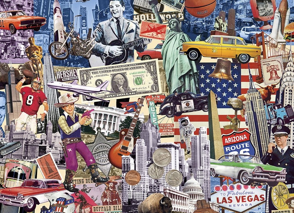 Read Online Best of the USA: 1000-piece Puzzle pdf