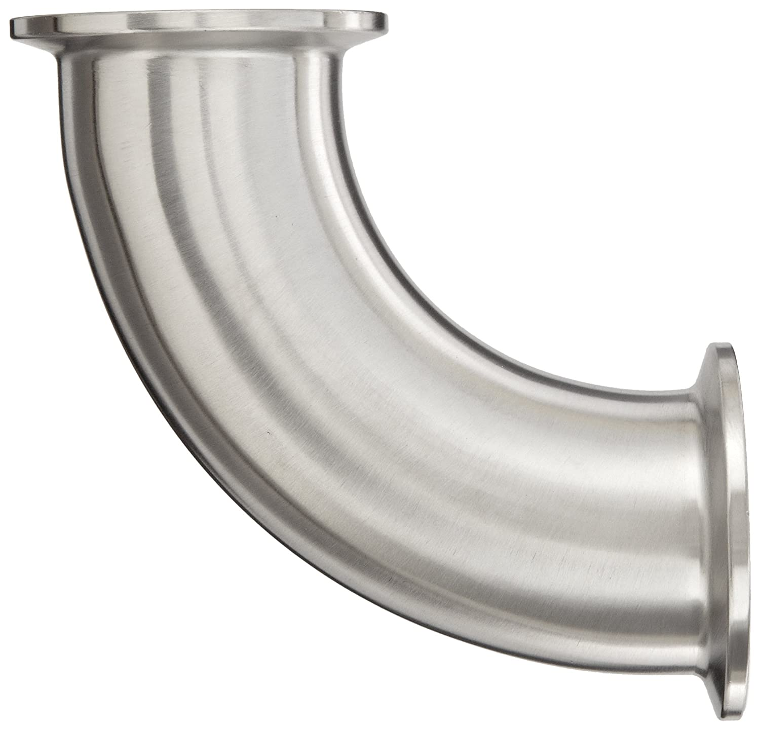1-1//2 Tube OD 90 Degree Clamp Elbow Dixon B2CMP-G150 Stainless Steel 304 Sanitary Fitting