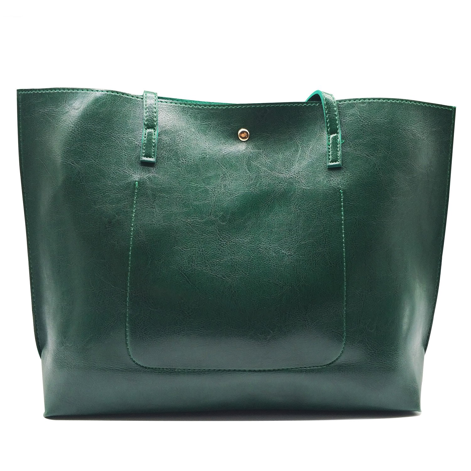 XBER Women Designer Handbags Tote Bags Ladies Top Handle Satchel Shoulder  Bag (Dark green)  Handbags  Amazon.com c05d131ed890b