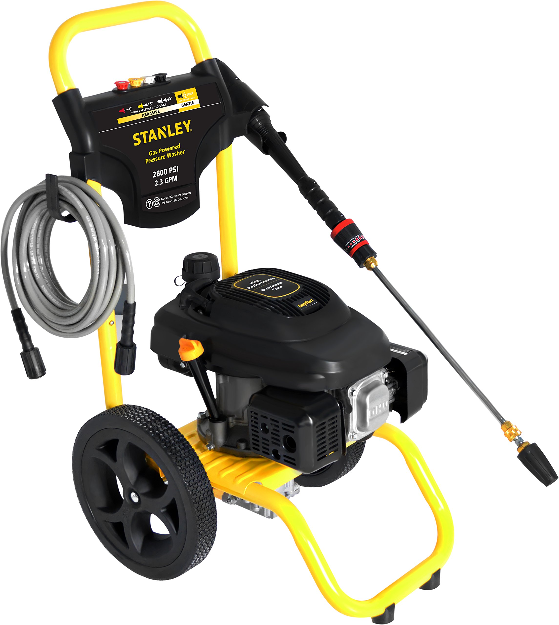 STANLEY SXPW2823 2800 PSI @ 2.3 GPM Gas Pressure Washer Powered by STANLEY (50-State) by Stanley (Image #4)
