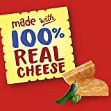 Cheez-It DUOZ Baked Snack Cheese Crackers, Jalapeno