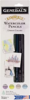 product image for General Pencil Kimberly Watercolor Pencils 4/Pkg, Urban