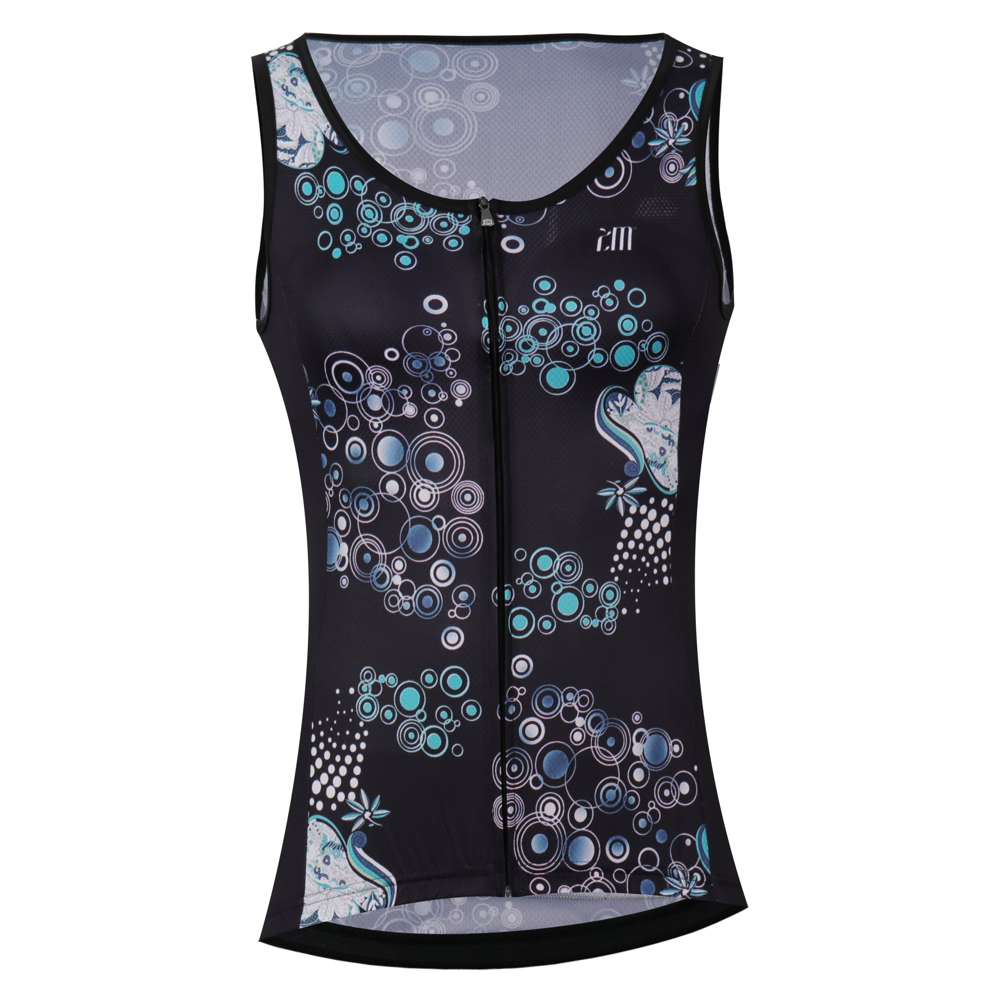 Cycling Sleeveless Jersey Vest Women/Bicycle Cycle Summer Vest Women/Breathable Bike Vest Sleeveless (M, 1) by Unknown (Image #1)