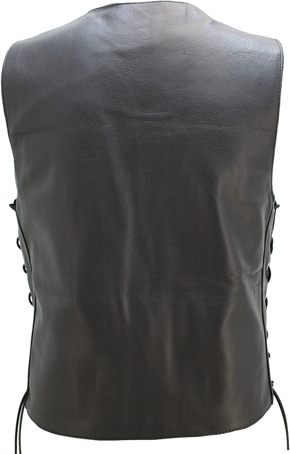 Leather Cruiser Vest American Made