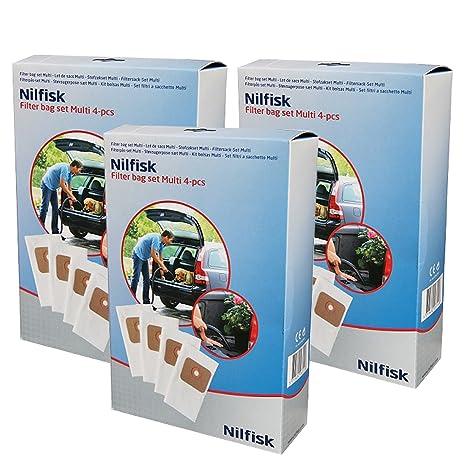Nilfisk auténtica Multi 20 20T 30T bolsas de polvo para ...