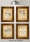 Amazon Price History for:Original Bathroom Patent Art Prints - Set of Four Photos (8x10) Unframed