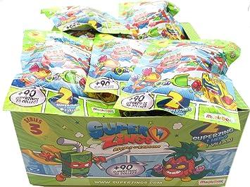 Magic Box SUPERZINGS Caja Completa 30 Sobres 2 Personajes ...